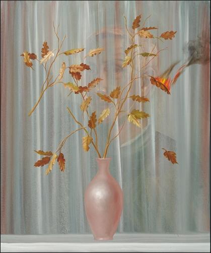 Silvano D'Ambrosio - 2005 - olio su tela - 90x80 cm
