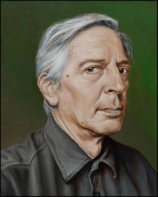 2014-Autoritratto a 63 anni-olio su tavola cm 13 x 10,5