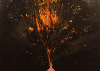 2004 - olio su tela - 160x140 cm
