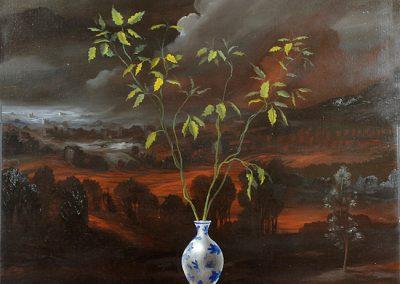 2004 - olio su tela - 120x120 cm