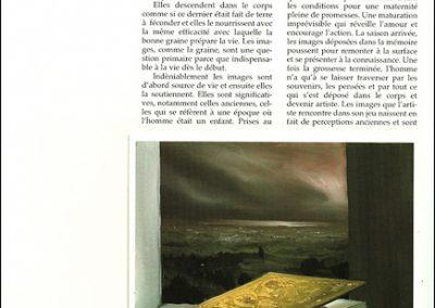 Libro profetico - 1995 – olio su tela – 35×40 cm