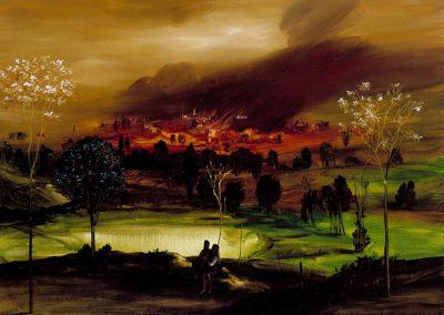 2001 - olio su tela 60x80 cm