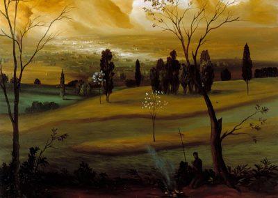1999 - olio su tela 80x90 cm