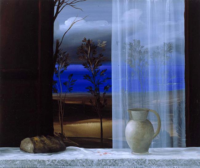 Oggetti sensibili - 2001 – olio su tavola – 50×60 cm