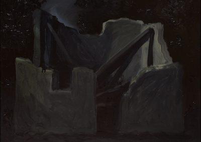 2-2007-Rovina lustrale-olio su tavola cm31x37