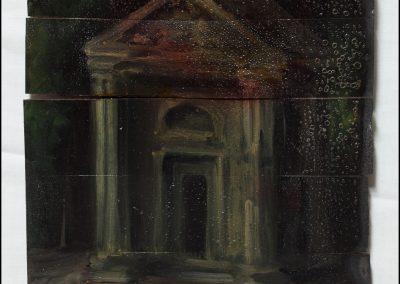 6-2017-Residuo esemplare-olio su tavola cm25x21