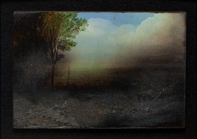 8-2017-Ombra bruciata-olio su tavola cm10x15