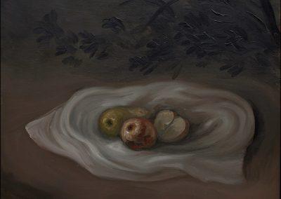 Rifugio - olio su tavola 2013 - 30x36