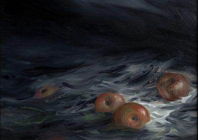 Terra ! olio su tavola 2013 - 21x25