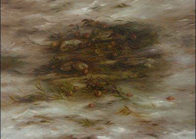 Terra assediata - olio su tela 2012 - 140x160