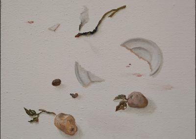 Indizi - olio su tela 2012 - 60x70