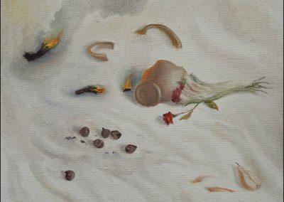 Malamore - olio su tela 2012 - 60x70