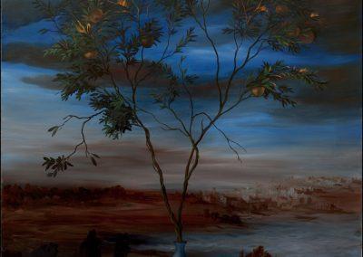 Pomi della discordia - olio su tela 2011 - 140x120
