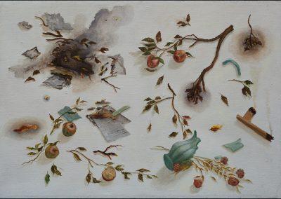 Disputa - olio su tela 2012 - 90x130
