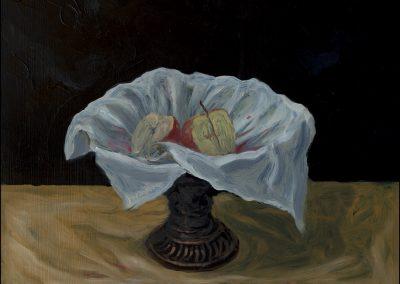 Decollazione - olio su tavola 2011 - 37x31