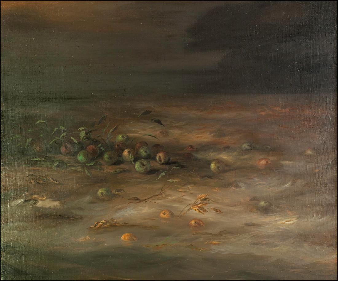 Notte rischiosa - olio su tela 2012 - 100x120