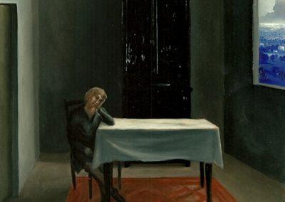 « le cafard » 1996 – olio su tela – 60×50 cm