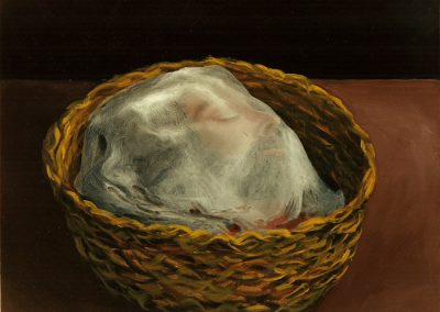 Giovanni Battista 1995 – olio su tela – 35×40 cm