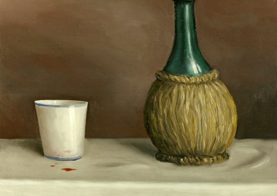 Buon sangue 1994 – olio su tela – 28×33 cm