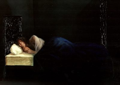Il sogno 1995 – olio su tela – 60×70 cm
